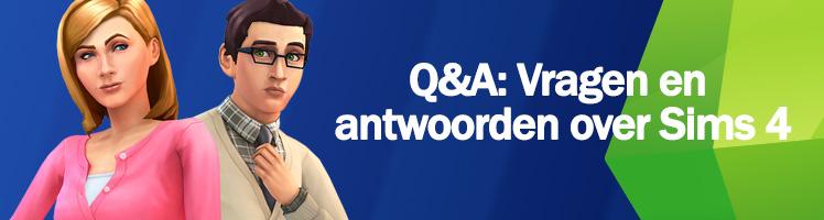 Sims 4 vragen en antwoorden