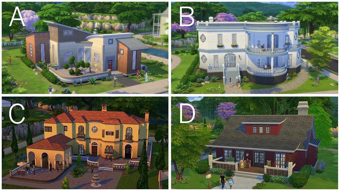 Sims 4 bouwmodus huizen - 1