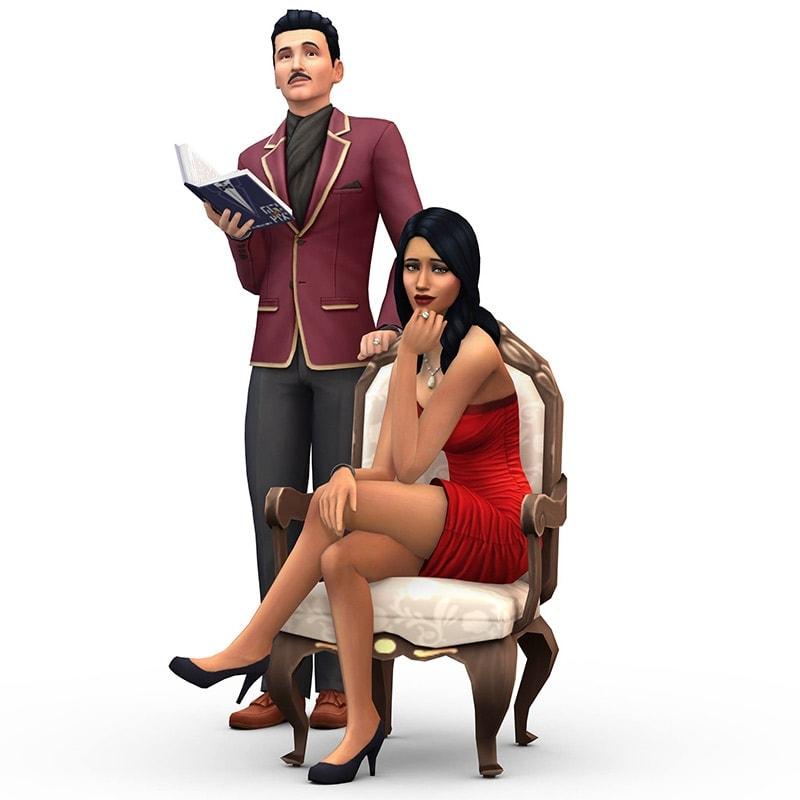 Sims 4 familie Van de Kerkhof - 1