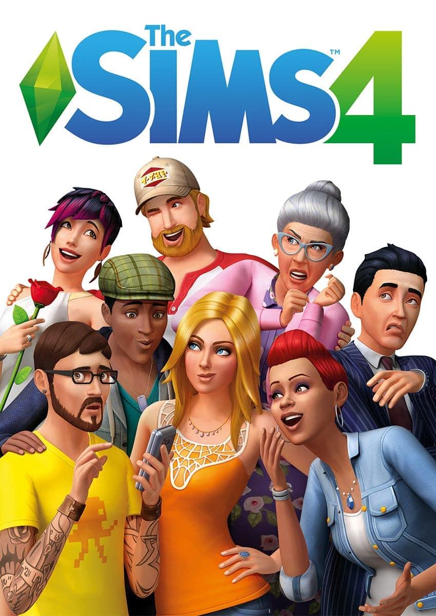 Sims 4 hoes (box art)