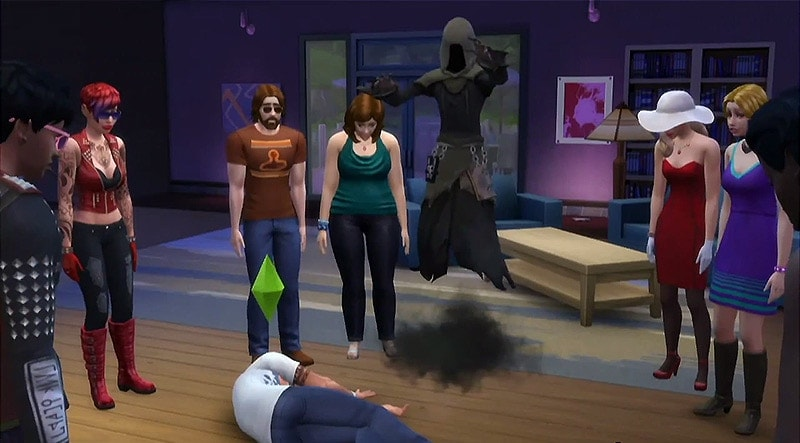 Sims 4 Magere Hein