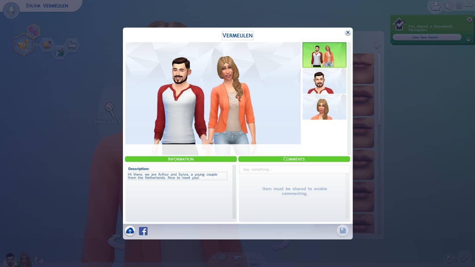 CAS (Creëer een Sim demo)