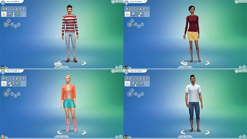 Creëer een Sim demo