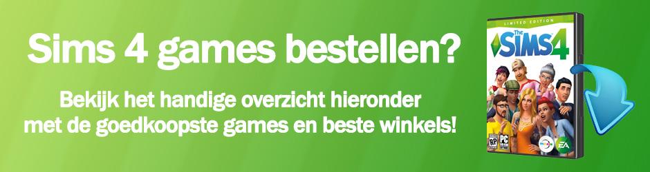 Bestel je favoriete Sims 4 games hier