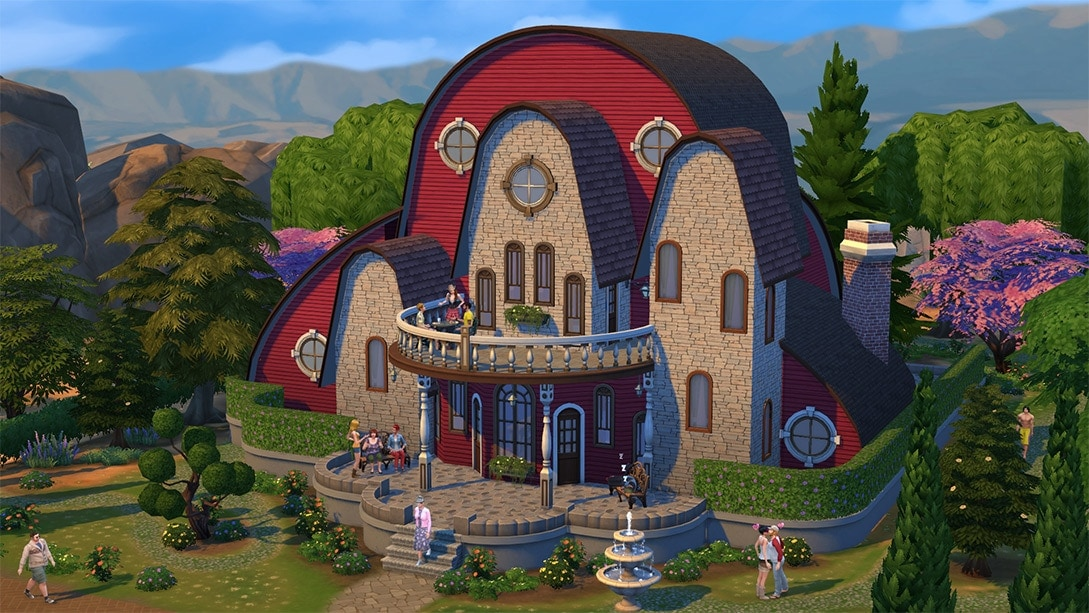 Sims 4 huis