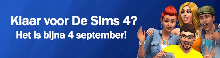 4 september verschijnt De Sims 4