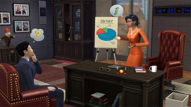 Sims 4 loopbanen, carrières