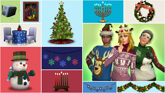 Sims 4 kerst
