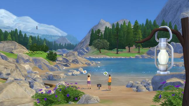 Sims 4 In de Natuur Game Pack