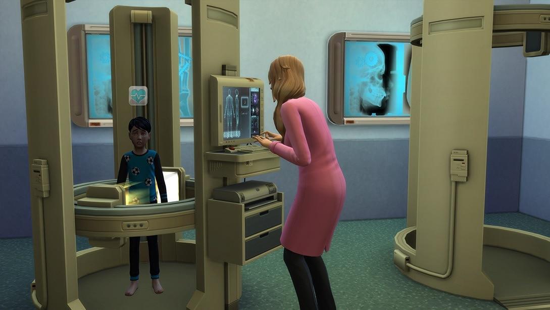 Uitbreidingspakket Sims 4 Aan het Werk