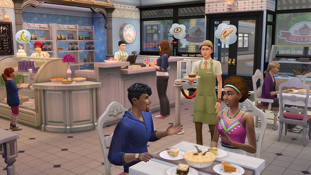 Blog Sims 4 Aan het Werk
