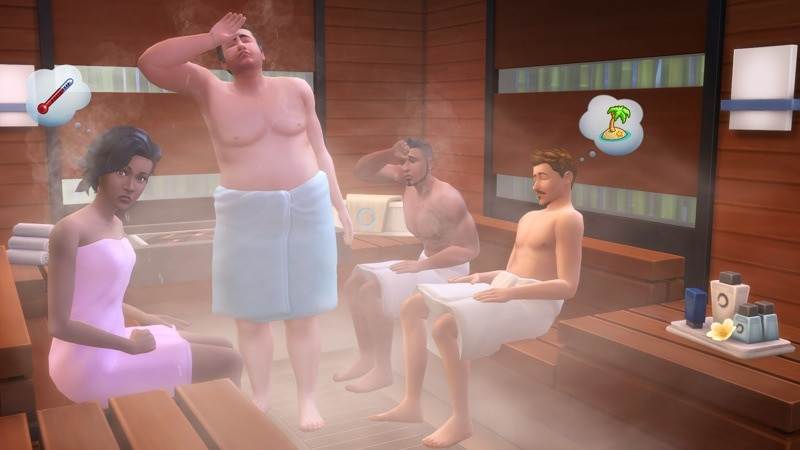 Game Pack 2: The Sims 4 Spa Day