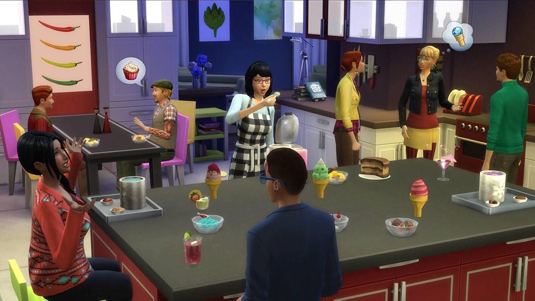 Accessoirespakket De Sims 4 Coole Keukenaccessoires