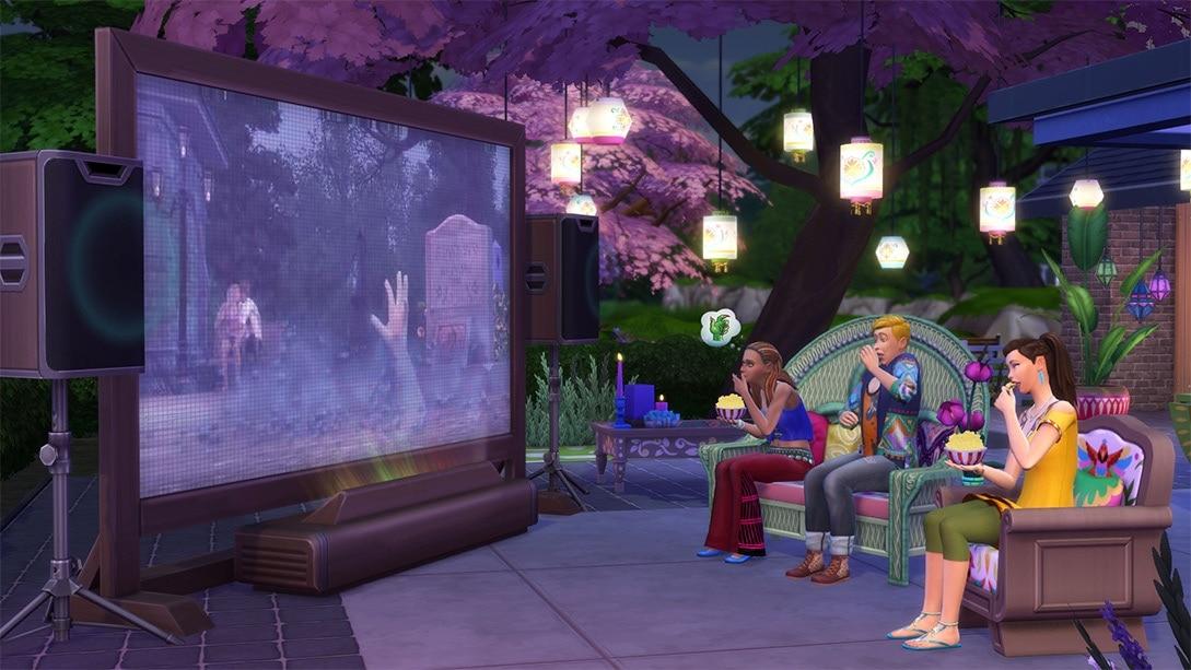 Accessoirespakket De Sims 4 Filmavond Accessoires