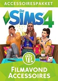 De Sims 4 Filmavond Accessoires hoes/box
