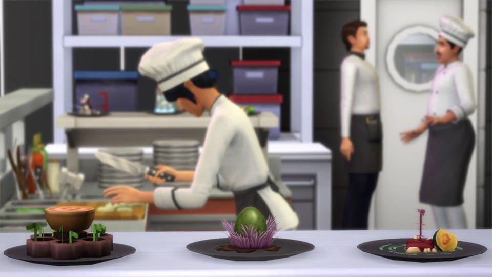 De Sims 4 Uit Eten Game Pack