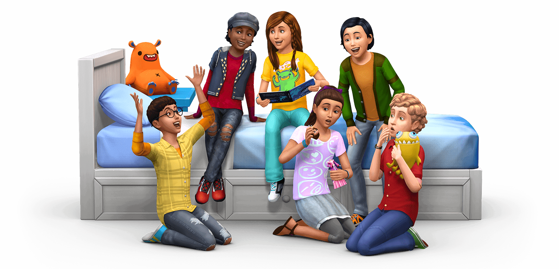 Artwork van accessoirepakket De Sims 4 Kinderkamer Accessoires