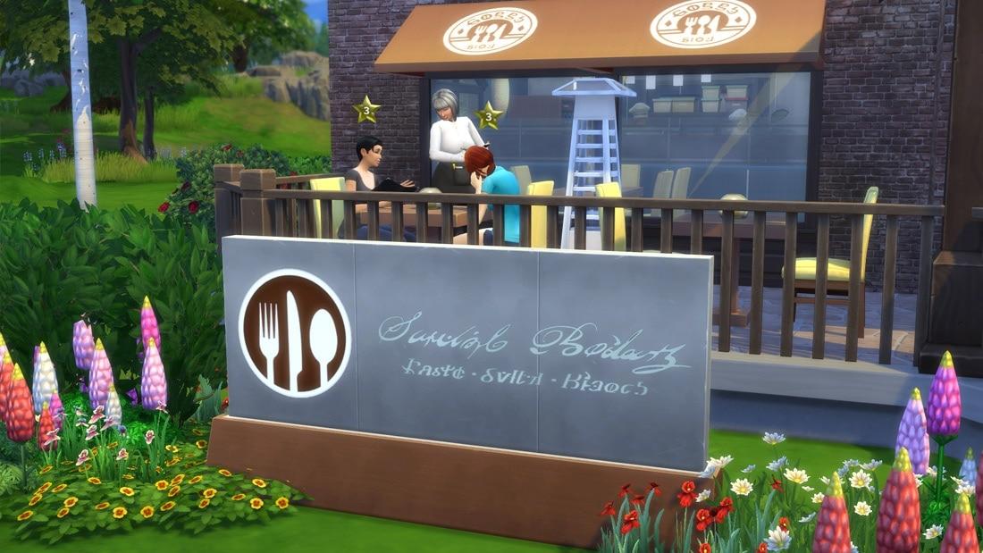 Download Sims 4 restaurant
