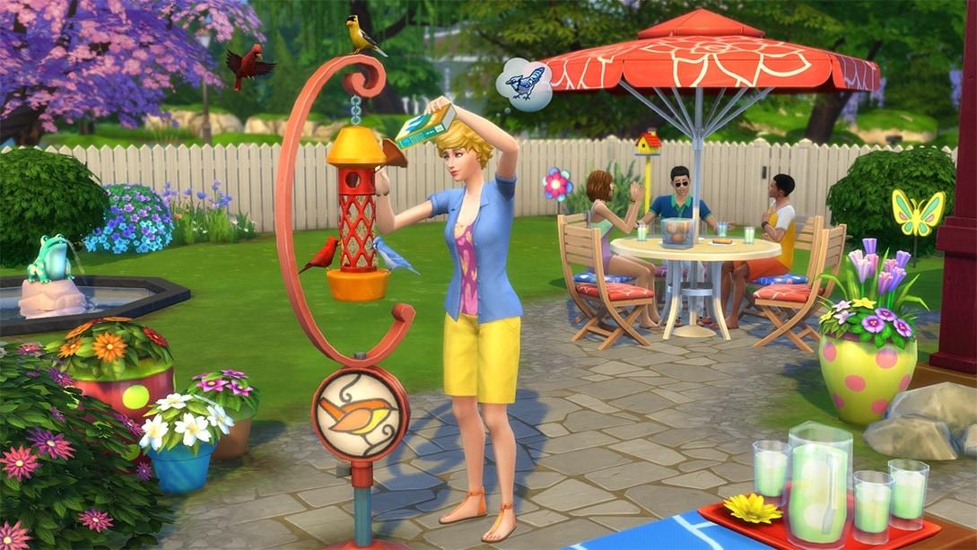 Accessoirepakket De Sims 4 Achtertuin Accessoires