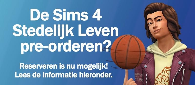 Pre-orderen: Sims 4 Stedelijk Leven kopen en downloaden
