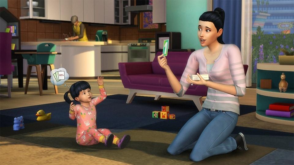 Eindelijk peuters in De Sims 4