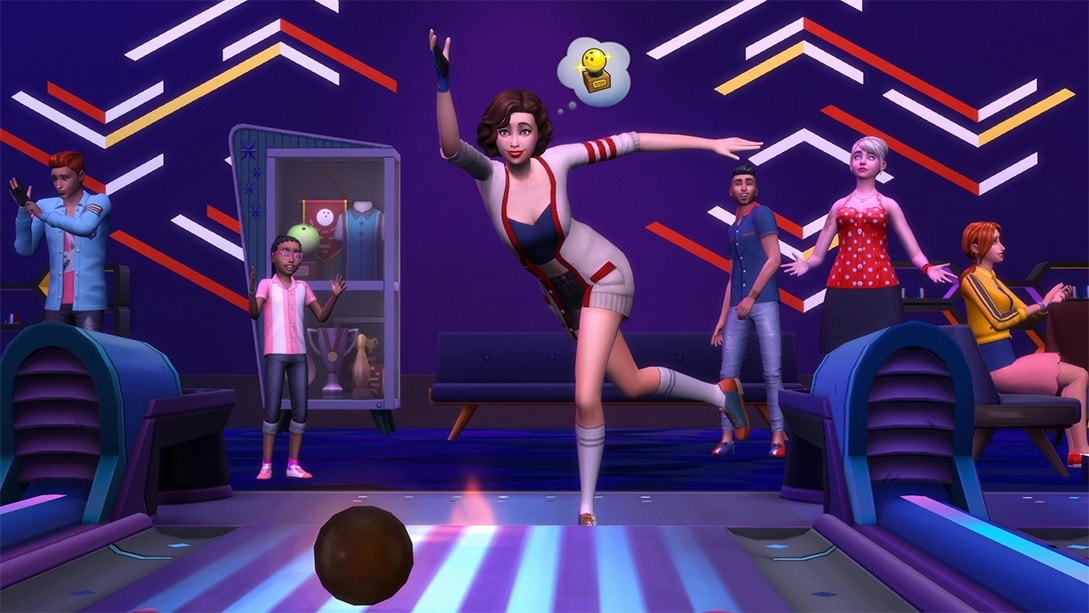 Accessoirepakket De Sims 4 Bowlingavond Accessoires