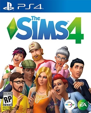 Console versie van Sims 4 voor PlayStation 4