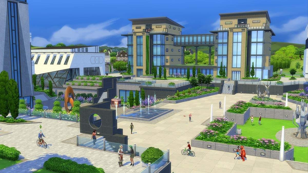Uitbreidingspakket De Sims 4 Studentenleven