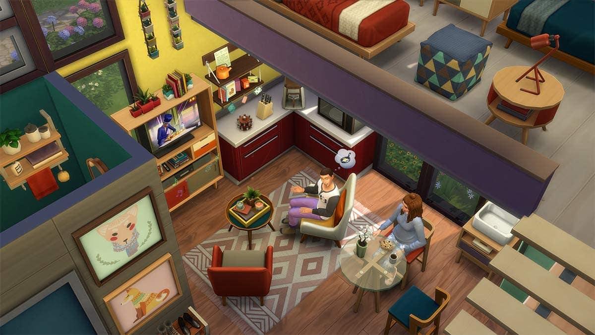Accessoirepakket De Sims 4 Klein Wonen