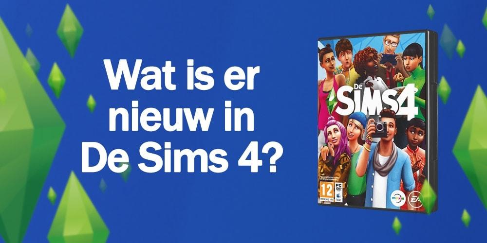 Wat is er allemaal nieuw in De Sims 4?