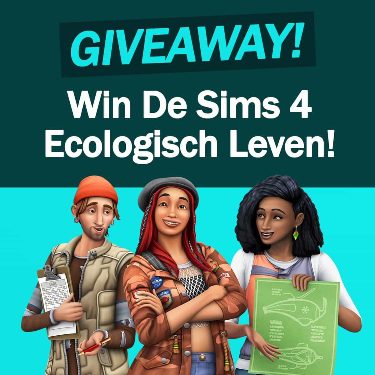 Giveaway: Maak kans op het nieuwe uitbreidingspakket De Sims 4 Ecologisch Leven