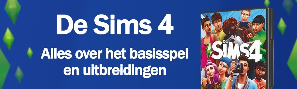Sims 4 informatie over het basisspel en uitbreidingen