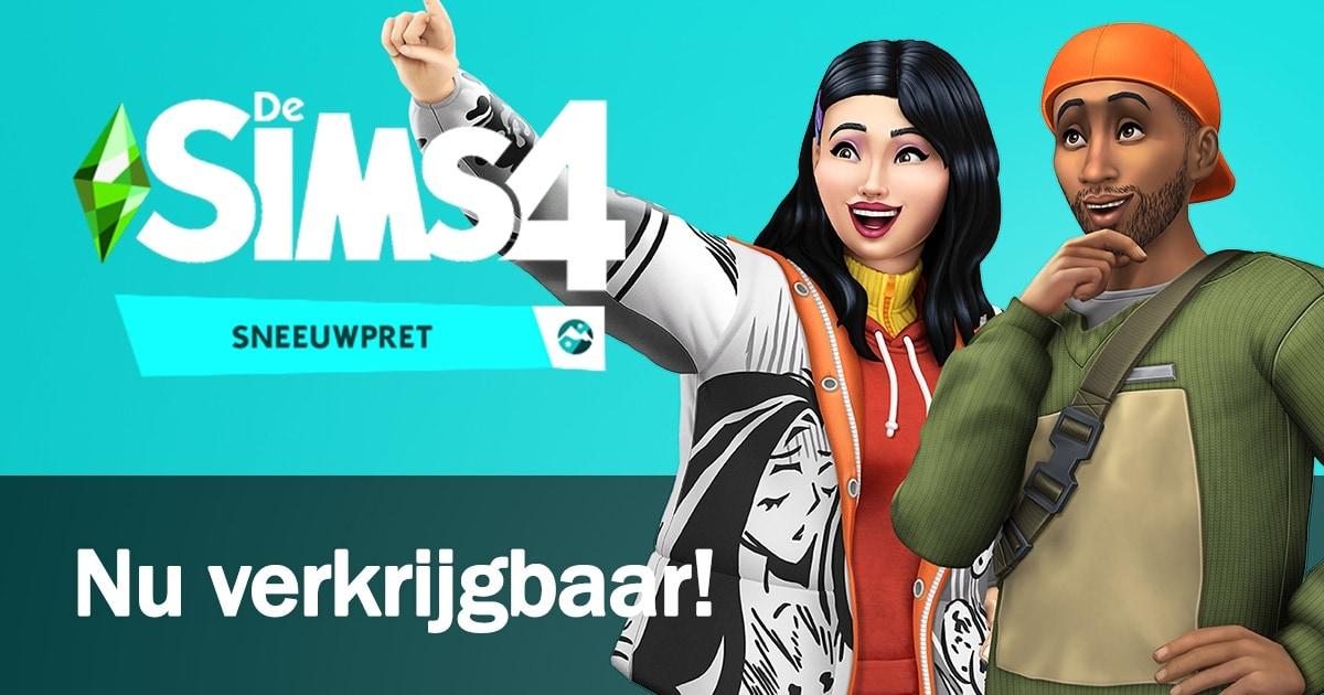 Uitbreidingspakket De Sims 4 Sneeuwpret is nu verkrijgbaar voor PC, Mac en console - koop en download hier